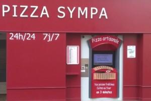 Distributeur PIZZA SYMPA à Saint Calais en Sarthe