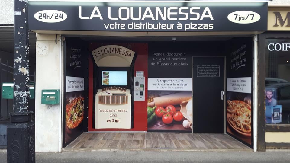 2ème distributeur de la Louanessa à Roissy en Brie
