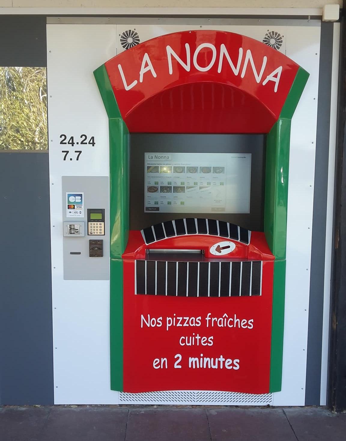Distributeur La Nonna à Liverdun (54) !