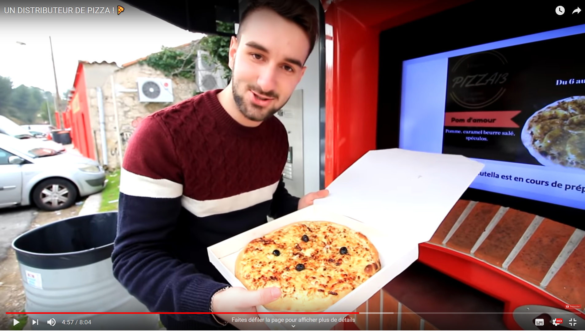 Crashtest PIZZADOOR par le youtubeur PikaShoute !