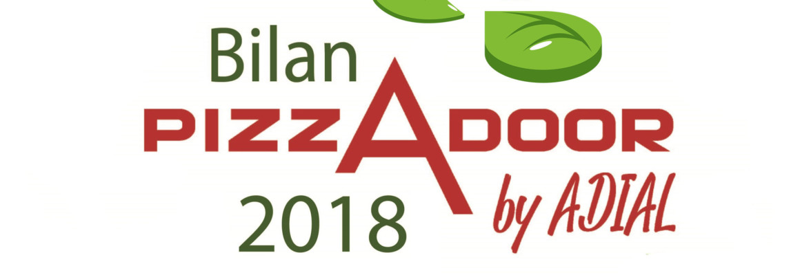 Bilan 2018 Pizzadoor by Adial !
