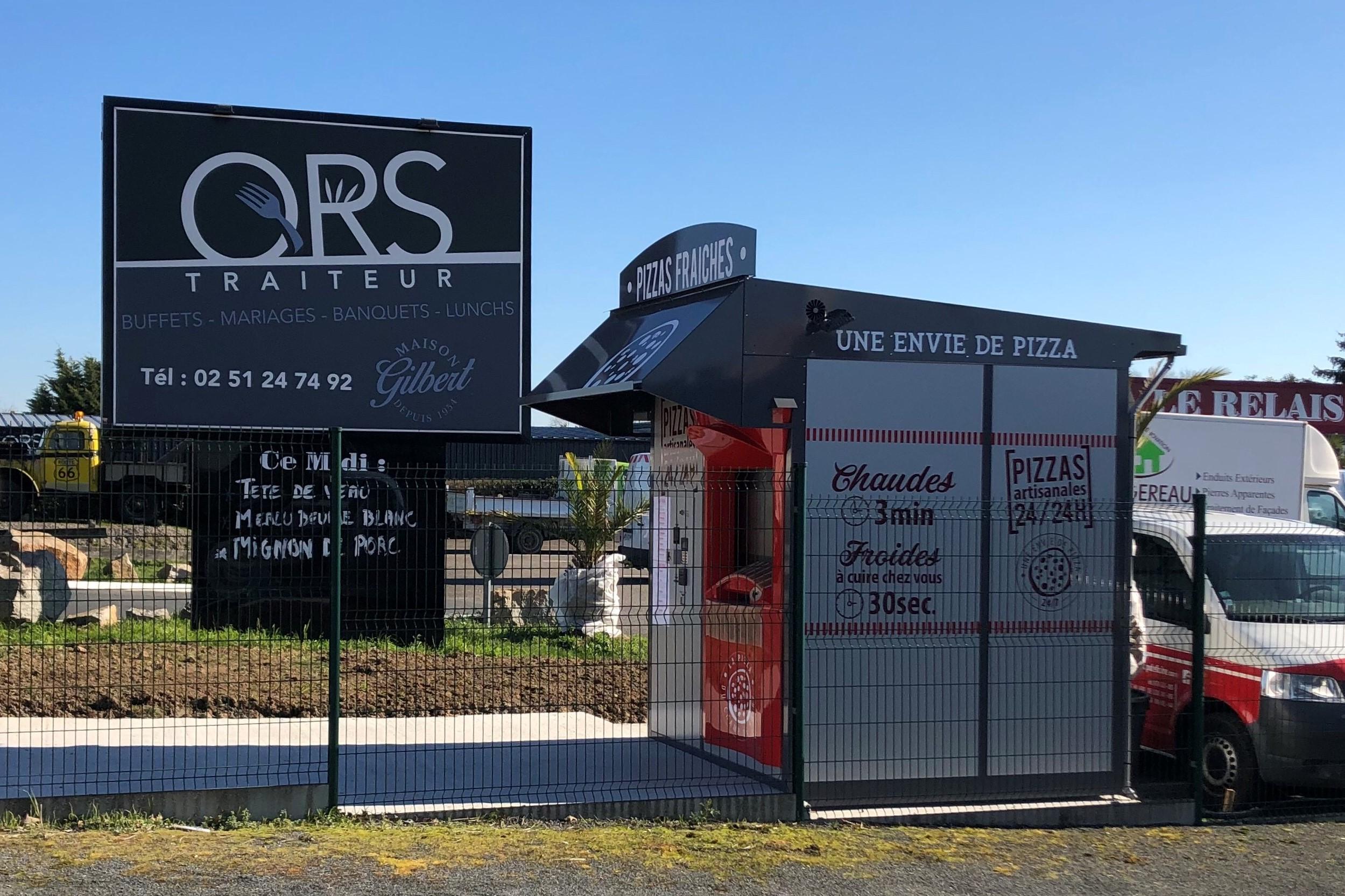 Vendée : Nouvelle installation de distributeur automatique !
