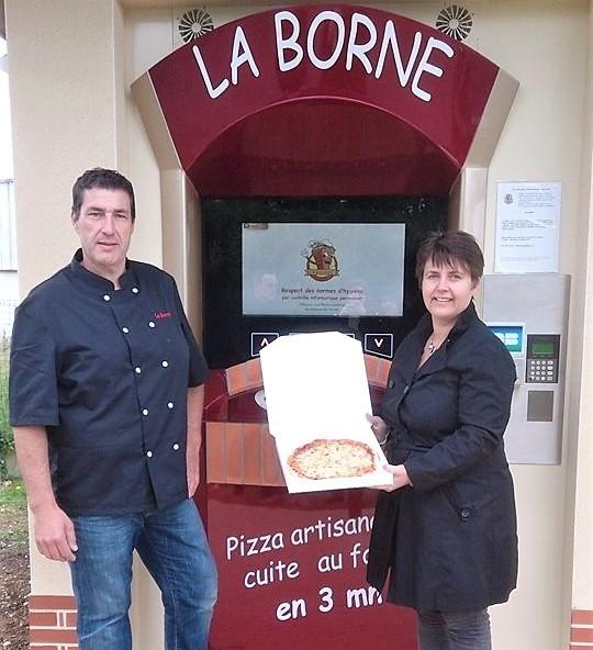 Nouvelle implantation distributeurs automatiques de Pizzas dans oise
