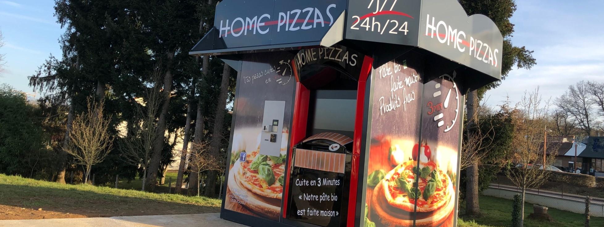 distributeur automatique de pizza DIEZ Christophe haute vienne