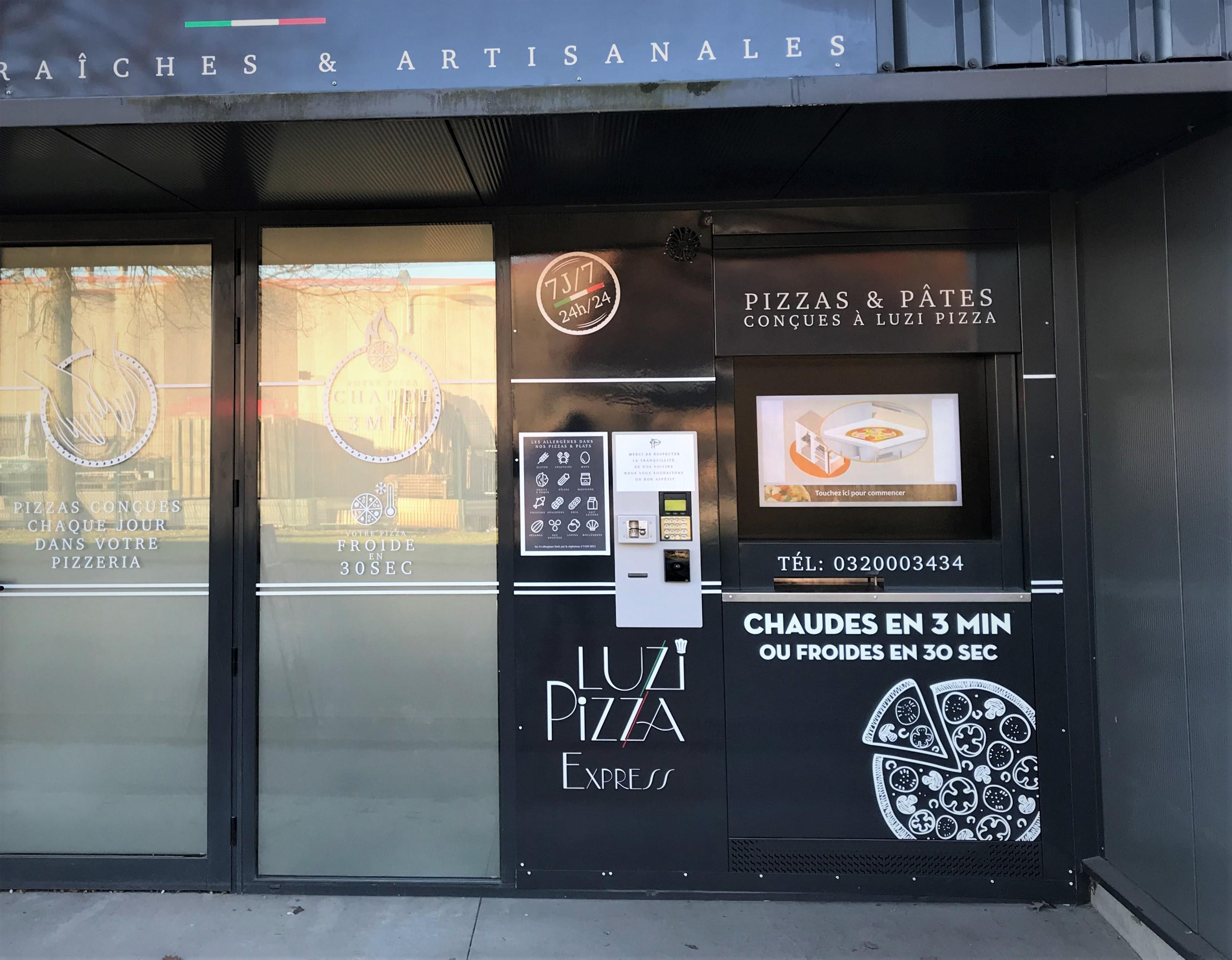 Implantation de distributeur automatique de pizzas dans le Nord (59)