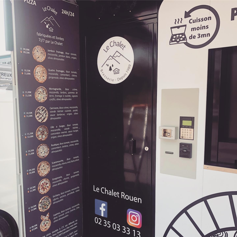Distributeur automatique de pizzas en normandie pizzador by ADIAL