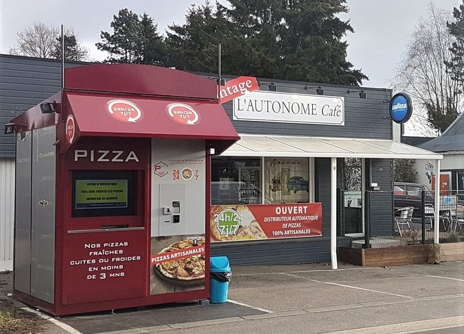 Nouvelle implantation de distributeurs PIZZADOOR en Normandie !