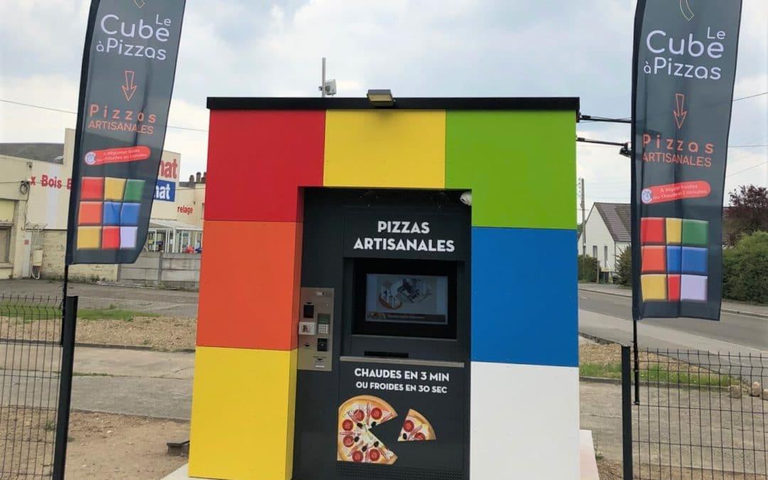 Le cube à Pizza à Granvillier (60)