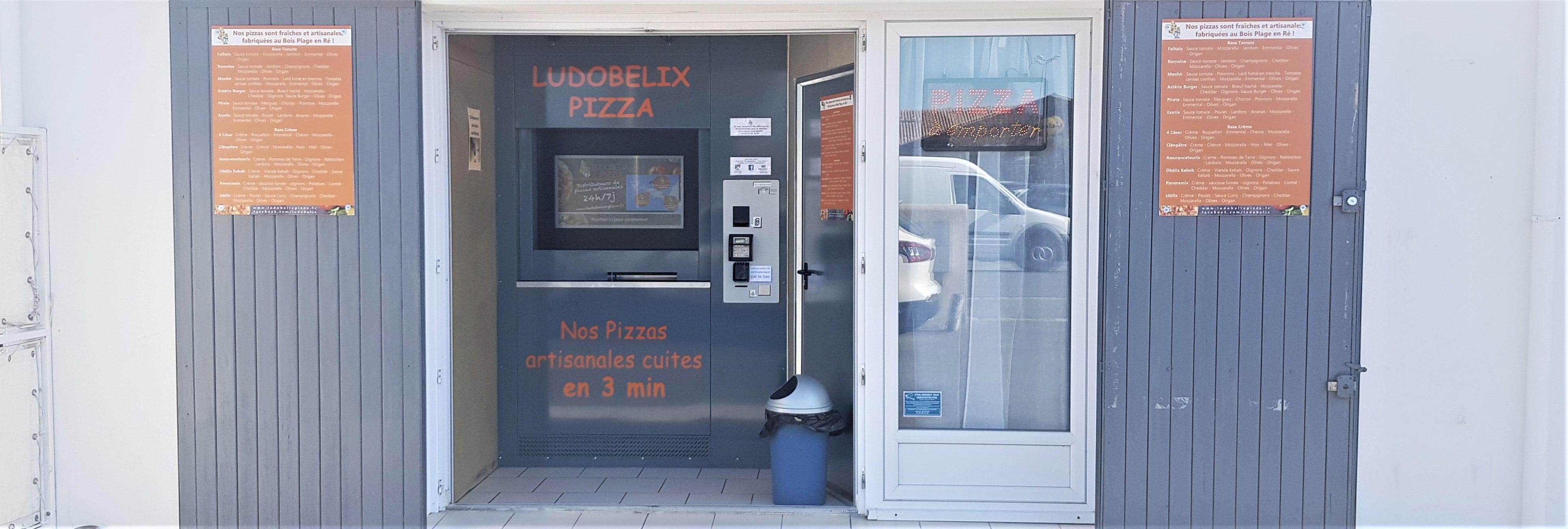 Nouvelle implantation d'un distributeur automatique de pizzas ludobelix charente maritime 2019