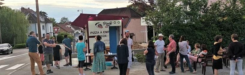 Distributeur automatique de pizzas pizzadoor by adial en bourguogne franche comté 2019 Pizza les vignes