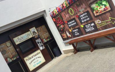 La Machecoolette a ouvert un nouveau distributeur automatique de Pizzas