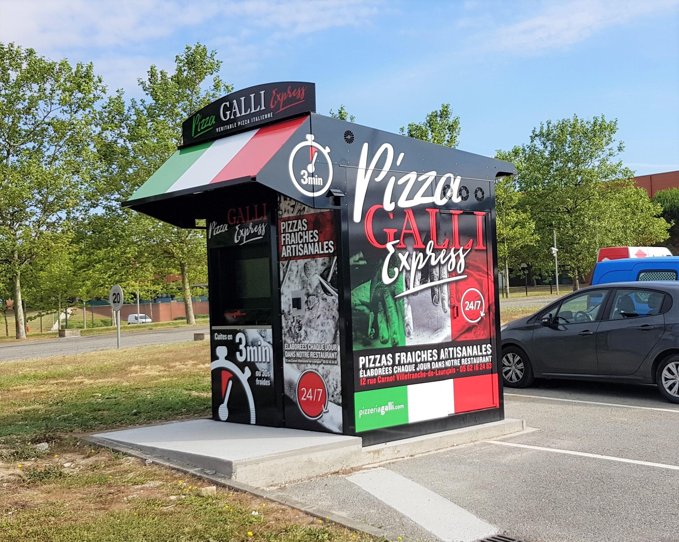 Distributeur automatique de pizzas la solution pour restauration