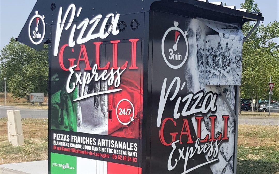 Un distributeur automatique de pizzas en Haute-Garonne.