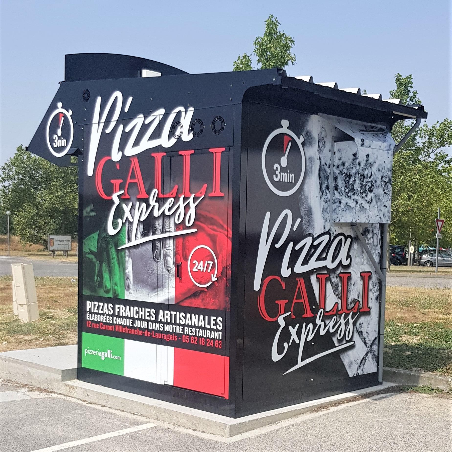 distributeur automatique de pizza Pizza GALLI 2019 sOLUTION RESTAURATION EMPLOYES