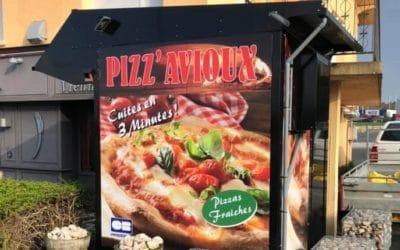 Distributeur automatique de pizza à Neufchâteau !