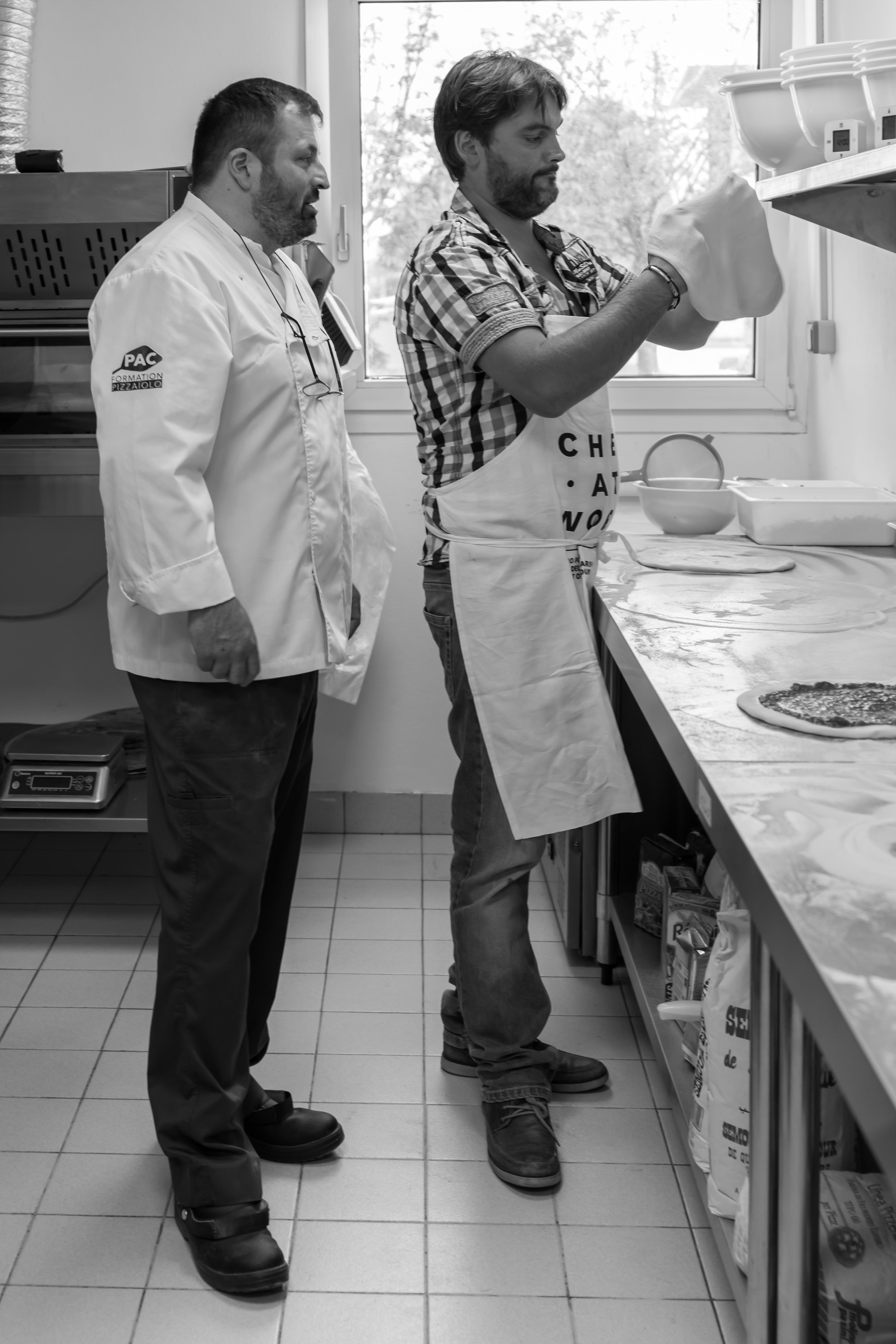 formation des pizzaïolos normandie - spécialisation des pizzas en distributeur automatique de pizzas - 2019