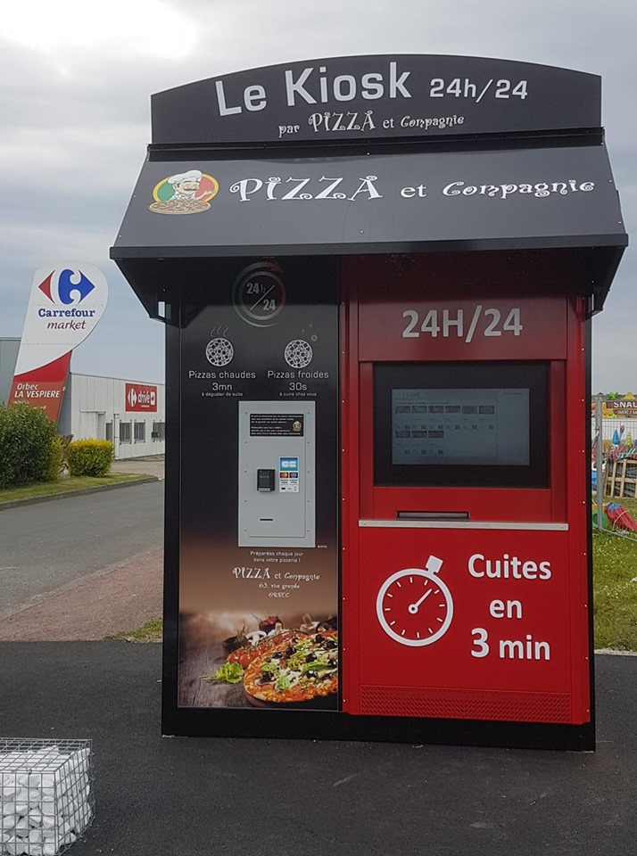 distributeur automatique de pizza et compagnie orbec Pizzadoor by adial