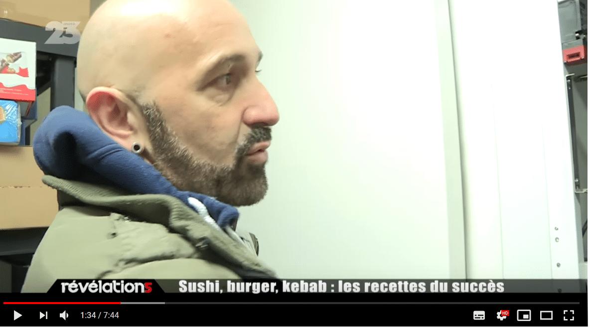 Reportage tv distributeur automatique de pizzas pizza yollo 2019