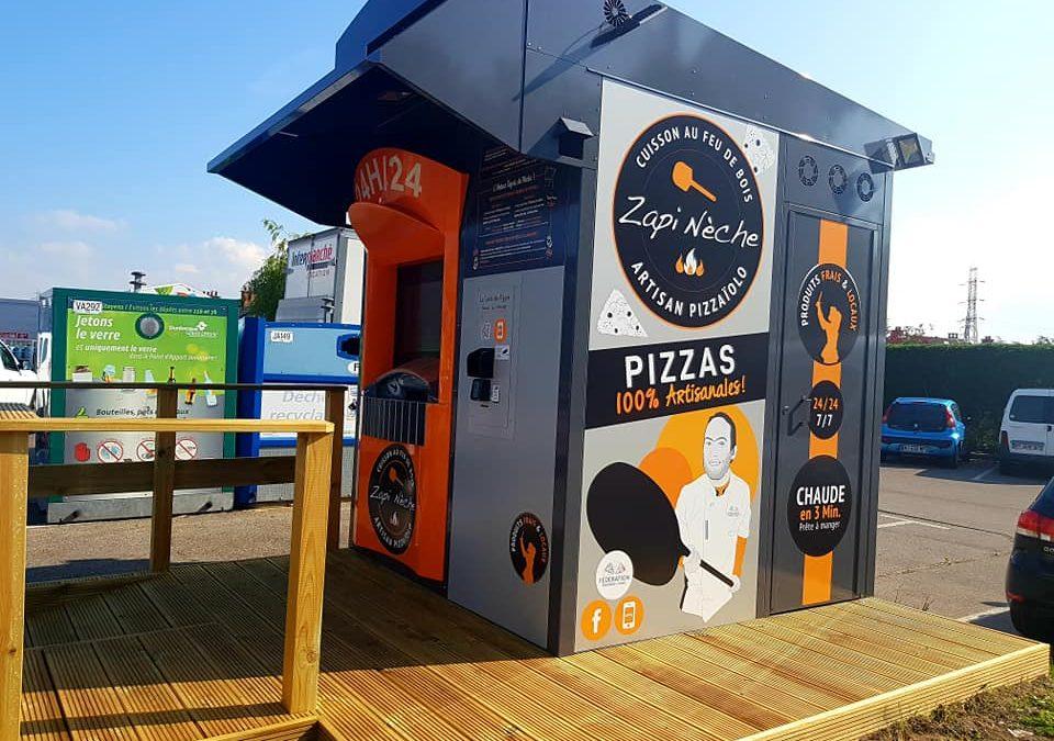 Zapi Nèche : le phénomène Dunkerquois se lance dans la distribution automatique de pizzas !