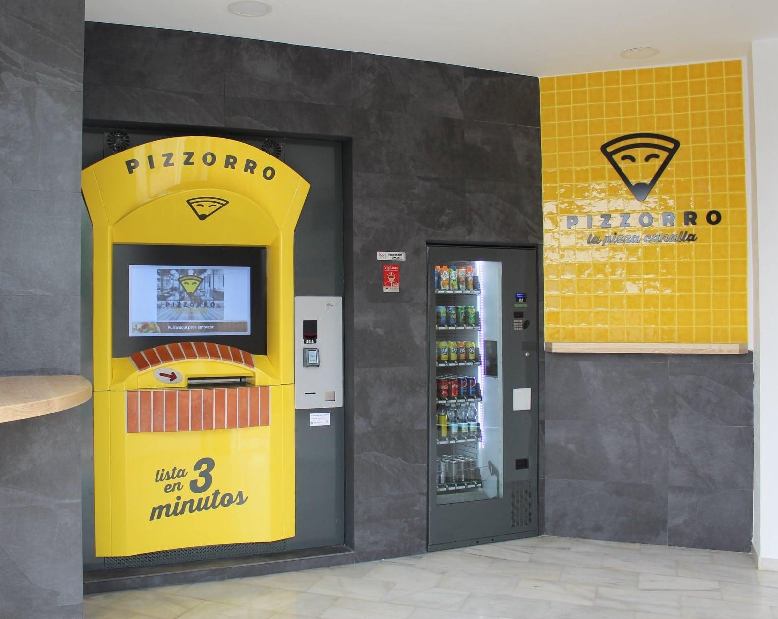Distributeur automatique de pizza : la solution pour les restaurateurs et pizzaiolo, espagne 2019