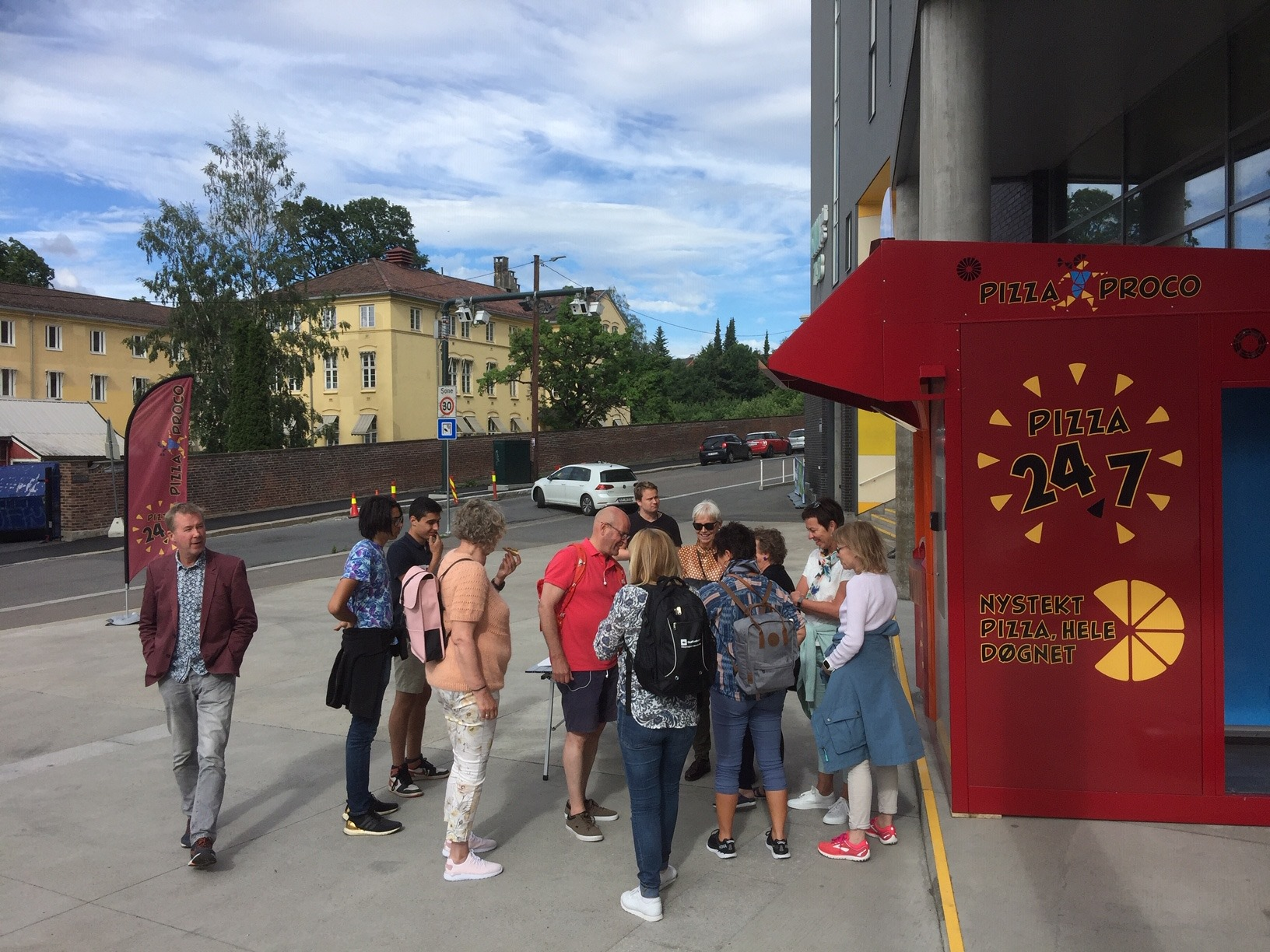 H&P Nordstrands blad Pizzaproco Oslo -2019 - pizzadoor en norvege