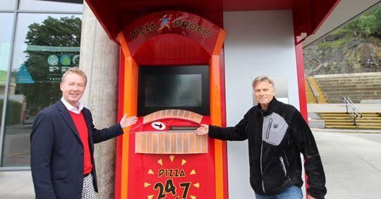 Norvege : Un distributeur de pizzadoor by ADIAL !