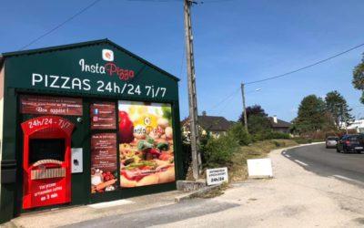 Instapizza : Distributeur de pizzas en  Bourgogne-Franche-Comté !