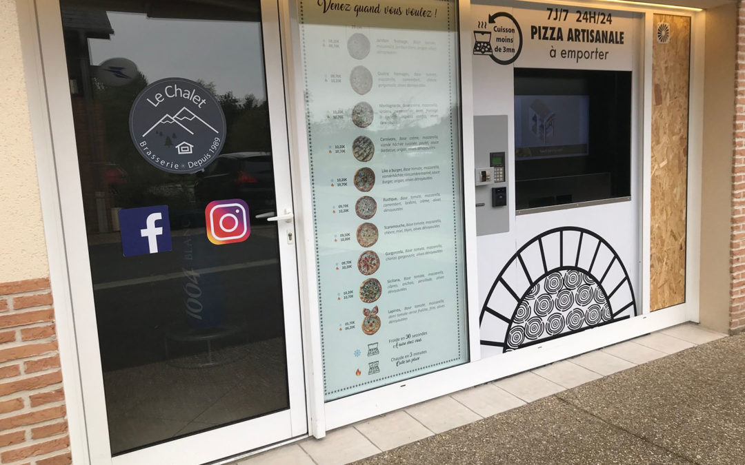 Moderniser son restaurant grace au distributeur automatique de Pizzas !