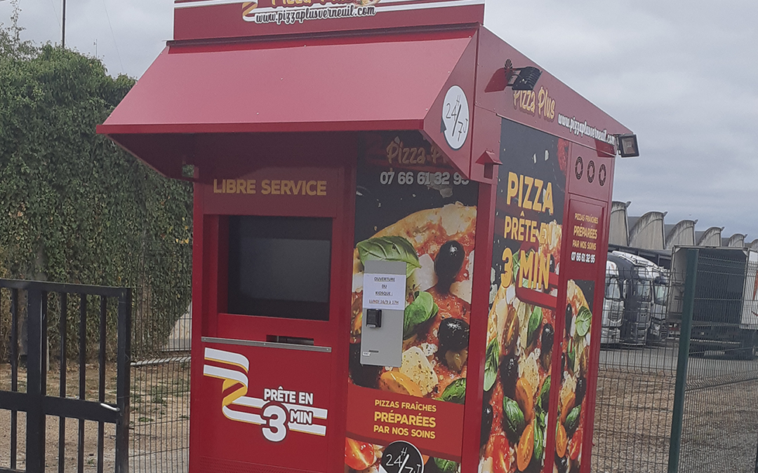 Développer votre pizzeria grâce au distributeur automatique de Pizzas !