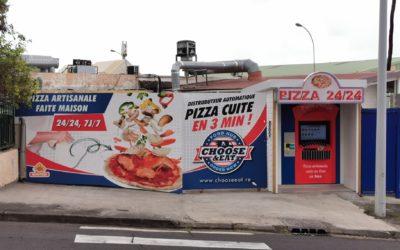 Distributeur automatique de pizza sur l'ile de la Réunion !
