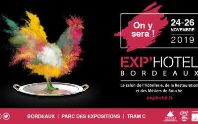 Salon Exp'Hotel de Bordeaux – 24 au 26 nov 2019
