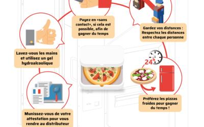 Les exploitants de distributeurs automatiques de pizzas, les grands gagnants de la crise du Covid-19 ?