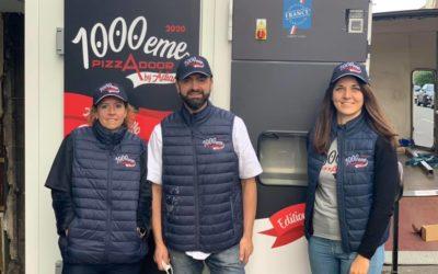Ciro Panella, heureux propriétaire de la 1000eme Pizzadoor