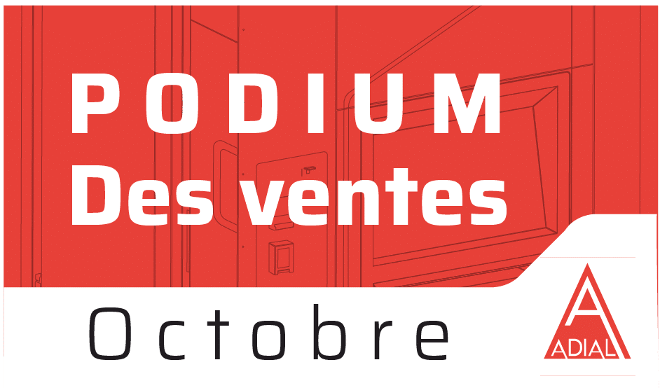 Podium Pizzadoor des ventes d'octobre 2020 !