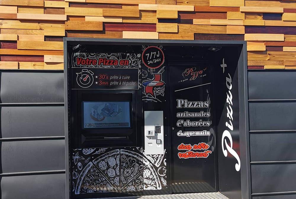 @LA BOX PIZZA+, le distributeur de pizzas artisanales d'Éric Bartholey